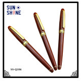 Promotional Roller Pen Wood Signature Pen for Business