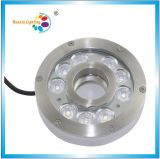Ce Quality LED Fountain Pool Light with Stainless Steel (HX-HFL200-9W)