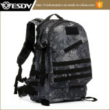 Python Black Outdoor Hiking Military Tactical3d Backpack