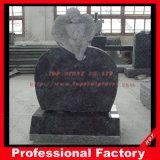 Hot Sale American Style Red/Black/Grey Granite Headstone