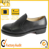 Black Genuine Cow Leather Army Police Shoes Military Office Shoes