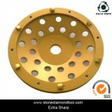 Concrete Restoration PCD Cup Wheels for Epoxy Coating Removal