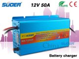 Suoer Fast Battery Charger 50A Four-Phase Charging Mode 12V Battery Charger with CE&RoHS (MA-1250A)