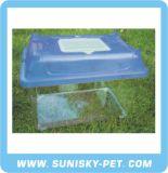 Transparent Plastic Pet Carrier (SFT-270C)