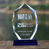 Crystal Glass Medal Glass Trophy Award Plaque