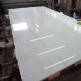 Sparkle White Artificial Quartz Stone Slab for Floor Tiles
