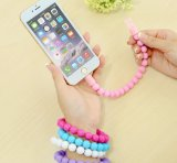 Bracelet Lightning and Micro USB Cable Data Charging Cable (WY-CA09)
