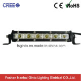 "Hot Selling 3W CREE Single Row Offroad LED Light Bar 7.3""/20""/30""/50inch"