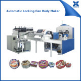 Automatic Locking Gift Box Tin Metal Can Making Machine