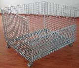 Steel Storage Warehouse Wire Mesh Container Cages