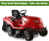 Riding Tractor Lawn Mower with Collector