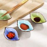 Ceramic Leaf Dish Dessert Snack Plate Home Decor