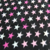 Star Printing Polar Fleece with Two Sides Brush
