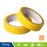 Yellow Color Masking Adhesive Crepe Paper Tape