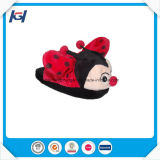 Latest Design Cute Ladybug Stuffed Animal Shaped Slippers