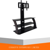 Glass + MDF LCD TV Stand with Bracket