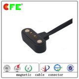2pin Waterproof Magnetic Power Connector with Cable in Servo Motor
