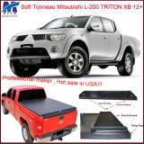 Hot Sale Retractable Truck Bed Cover for Mitsubishi L-200 Triton Xb 2012+