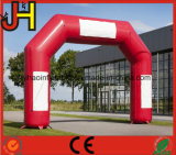 Custom Red Cheap Inflatable Arch with Logo for Sale