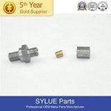 M10-1.25 Spl Hex Collar Nut C10200 Copper Nickel Finish Per Print