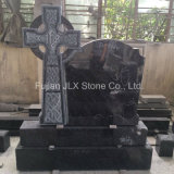 Bahama Blue Granite Celtic Cross Tombstone for UK