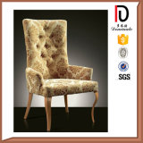 Silver Metal Frame French Style High Quality Replacement Dining Room Chairs