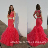 Jewelry Party Prom Ball Gowns Lace Tulle Evening Dress E17921