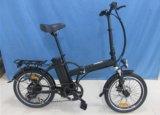 "Powerful 250W Brushless Motor 20"" Folding Frame E-Bike (JSL039A-5)"