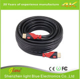 Hot Selling Double Color Nylon HDMI Cable