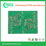 "2 U"" Immersion Gold PCB with Green Ink"
