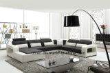 Home Furniture Modern Living Room Leather Sofa (UL-NS407)