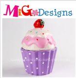 Purple Girls Love Cherry Cupcake Sweety Canister