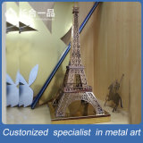 Factory Manufacture Metal Eiffel Tower Decoration Metalware for Display/Exhibition