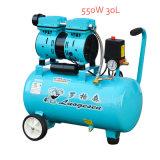 30L 600W 2cylinder Oil Free Portalbe Screw Air Compressor