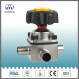 Stainless Steel Three-Way Welded Diaphragm Valve