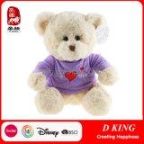 Purple Clothes Stuffed Animals Soft Teddy Bear Plush Toy