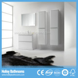 Modern Both Floor and Wall Mounted Bathroom Cabinets with 2 Side Units (BF379D)