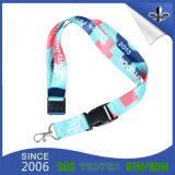 Fashion Lanyards Printed Lanyard Necklaces for Promotional Gift