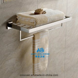 Polished Shower Shelf with Towel Rail Bath Chrome Towel Bar
