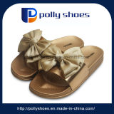New Slides Sandal Bowknot Slipper Golden