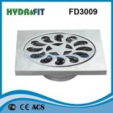 Zinc Alloy Shower Floor Drain / Floor Drainer (FD3009)
