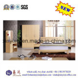 Oak Color Wooden Furniture Modern Bedroom Sets (SH040#)