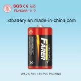 1.5V Farer Super Heavy Duty Dry Battery (R14 Um-2, C)