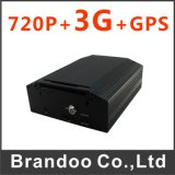 3G Car DVR, 4 Channel 720p, 1tb HDD, Used for Truck, Bus, School Car, Taxi, 3G Live Video and Real Time Position Tracking