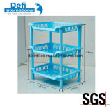Plastic Multifunctional Shelf for Kitchen