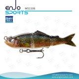 Angler Select Multi Jointed Life-Like 3 Section Hard Fishing Lures Salt & Fresh Water Fishing Bait Fishing Lure (MS1106)