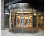 Glass Automatic Half Circle Sliding Door
