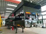 3 Axle Container Cargo Transport Stake Semi Truck Trailer