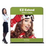 Explore Retractable Banner, Fabric Display Expand Media Fabric Straight Wall Pop up Display Wall