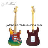 Tortoise Pickguard Mix Three Color Painting St Electric Guitar